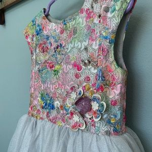 Halabaloo High Low Tulle Sparkly Size 4 Dress